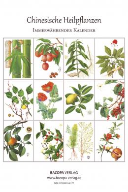 Kalender Chinesische Heilpflanzen