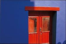 Rote Tür