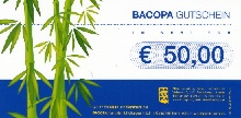 Bacopa Gutschein 50,00 Euro