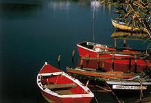 Rote Schiffe