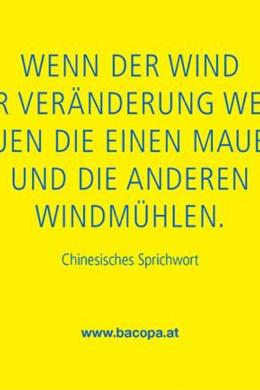 Wenn der Wind der Veränderung weht